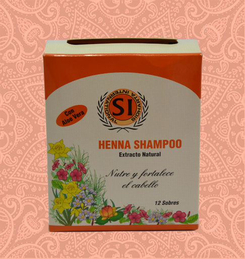 Sachet shampoo Henna