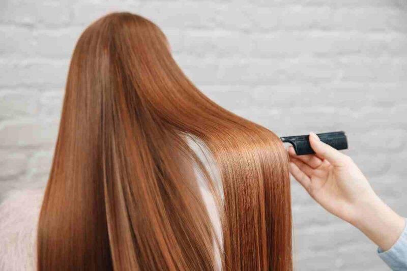 Revitalización de cabello con tintura